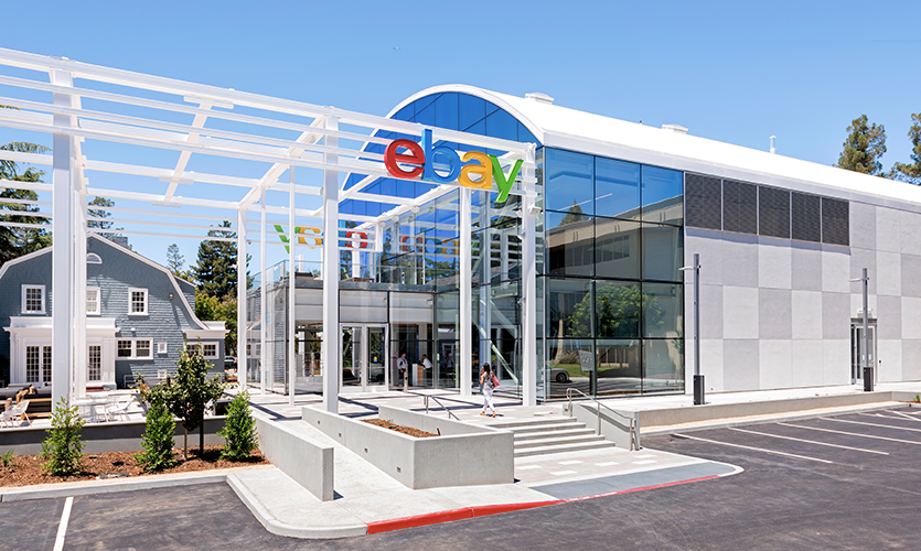 "Online retail and resale giant eBay sought the help of ESI Design to help provide a fresh, technology-driven ""front door."""