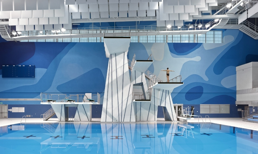 Pan Am/Parapan Am Aquatics Centre and Field House, Toronto, Canada, 2015, Entro