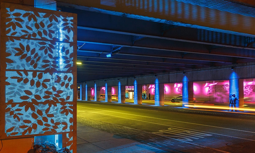 Since its December opening, the re-imagined Spring Garden Connector has totally changed the visitor and commuter experience by creating an artful, safe-feeling passage.