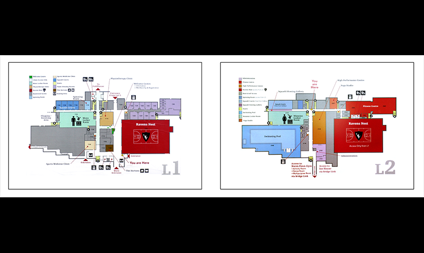 Figure 6. Paper directory maps for the 1st and 2nd levels