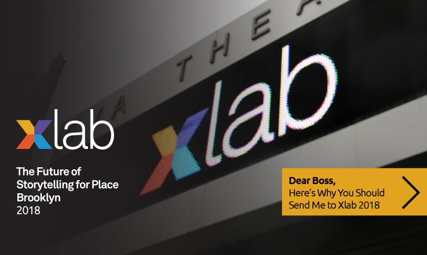 """Are you the boss? Nothing says """"I support your professional growth"""" more than a trip to Xlab 2018 for your employees!"""
