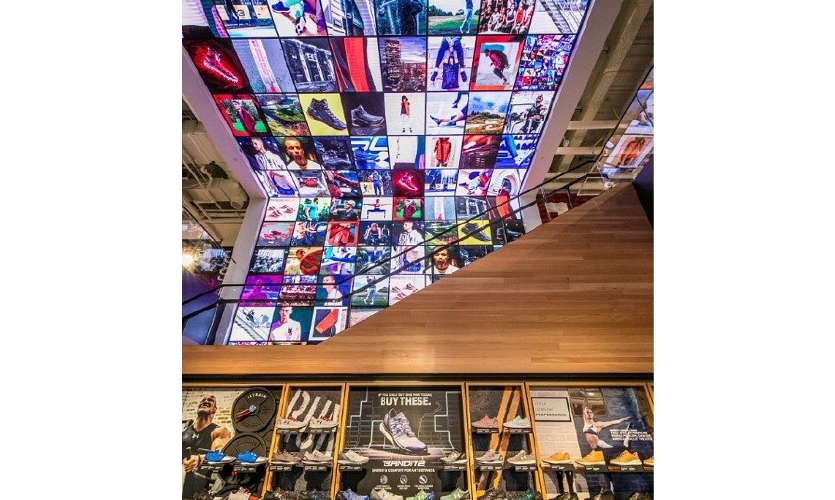 Under Armour Brand House; Boston, Mass., 2016;  Big Red Rooster, Activate the Space and Soldier Design
