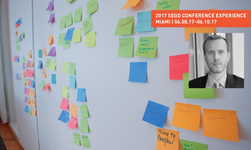 Siggi Bachmann discusses Design Thinking and his workshop at the 2017 SEGD Conference Experience Miami.