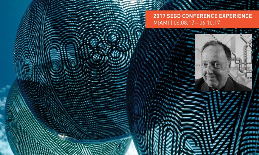 Meet Lance Wyman in Miami at the 2017 SEGD Conference Experience Miami.