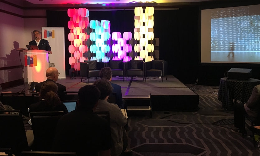 Richard Poulin, FSEGD, of Poulin + Morris wrapped up the successful 2017 SEGD Wayfinding event with a closing keynote session on international wayfinding and placemaking.