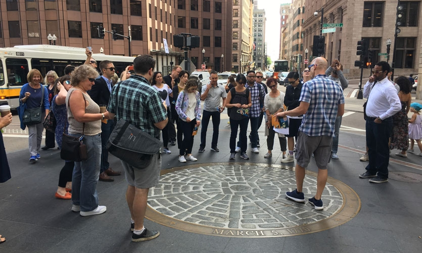 Participants experience Boston's rich history and plentiful public art in this sold-out tour led by DCL.