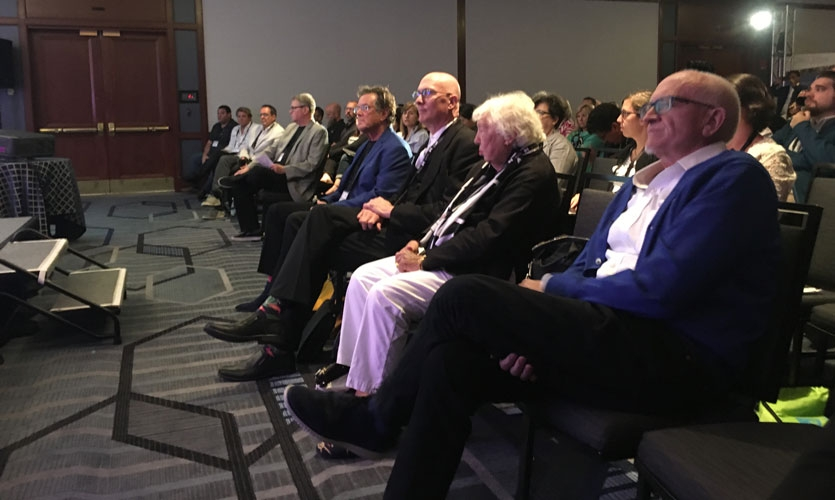 The 2017 SEGD Wayfinding event brought together leaders in the industry, including EGD pioneer Jane Davis Doggett and several SEGD Fellows.