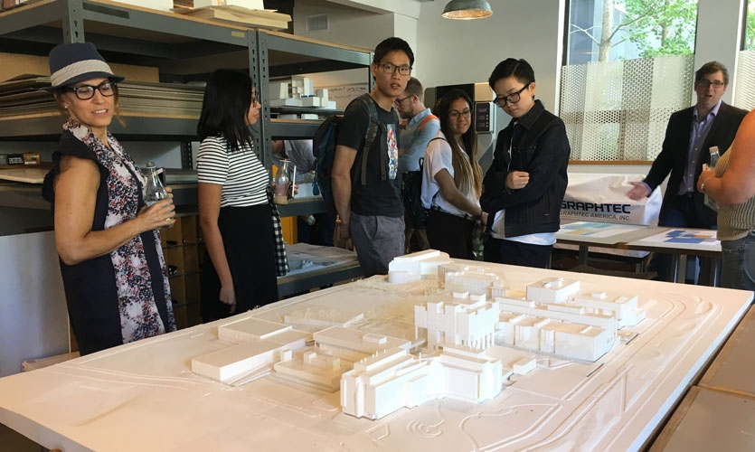Participants get an inside look at how the interdisciplinary team at Sasaki pushes the boundaries of design thinking and iteration during this sold-out tour.