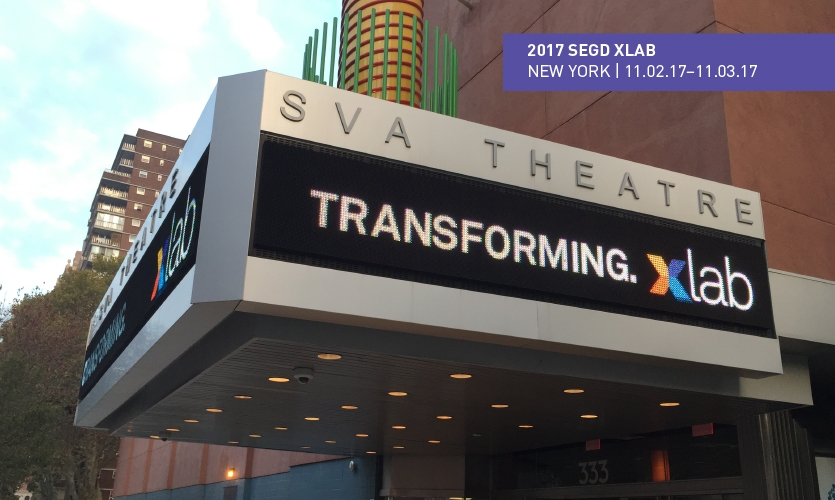 Choose from six studio innovation tours and two experiential walking tours at the 2017 SEGD Xlab event.