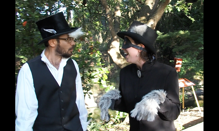 Figure 17. Interpreters in Victorian Dress with Animal Accents
