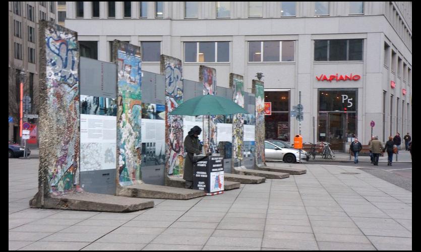 Figure7. Berlin Wall Public Exhibit, Berlin Natural History Museum: Taxidermy Exhibit