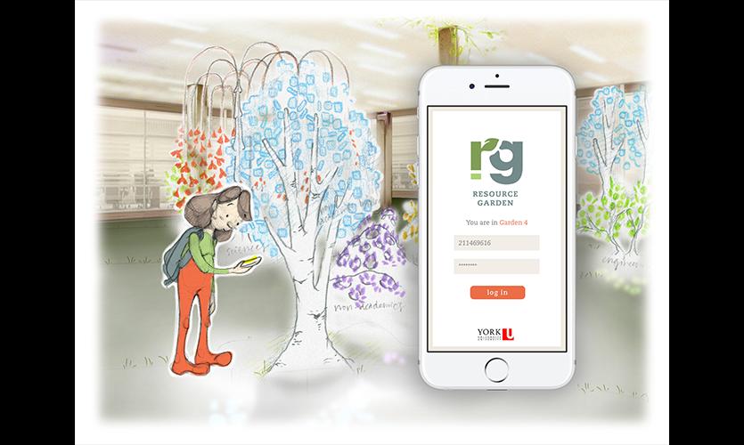 Figure 7. Eve opens Resource Garden app and it detects her Garden Pod