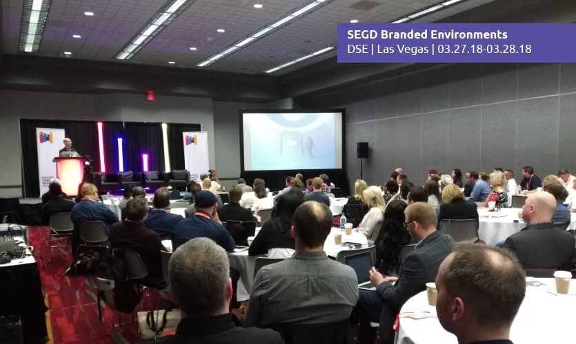 More than a hundred design professionals have already made plans to attend this year SEGD Branded Environments event. Will you be one of them?
