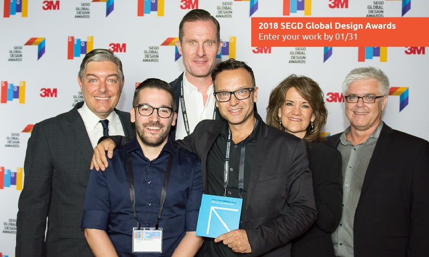 Participating in the SEGD Global Design Awards isn't just about the acclaim. It's also good for business.