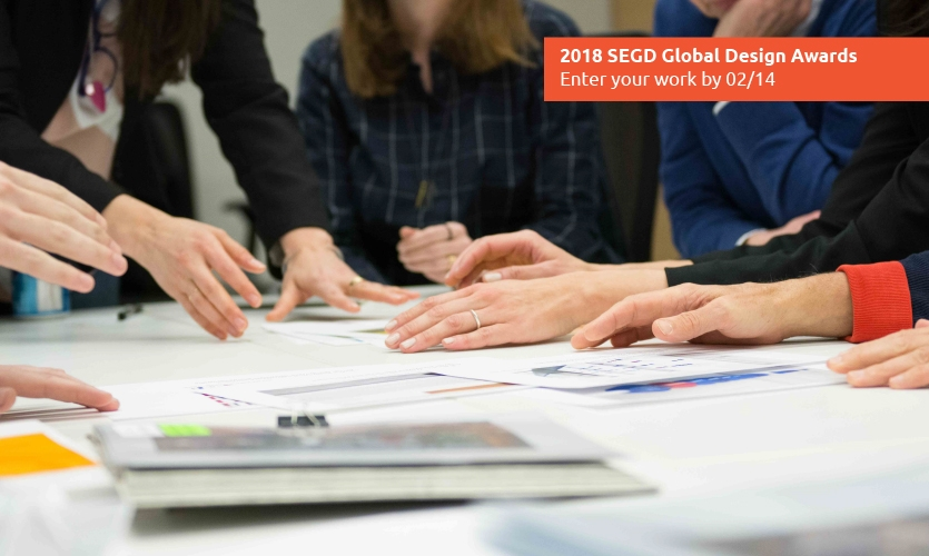 When it comes to the SEGD Global Design Awards, there's no skimping by the Jury handling and judging your entries.
