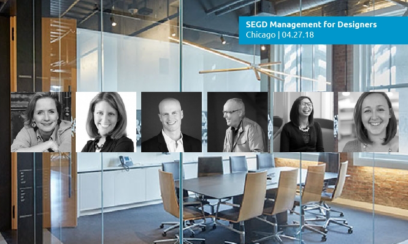 Join these leaders to enhance your business skills and become a better manager at 2018 Management for Designers, April 27 in Chicago.