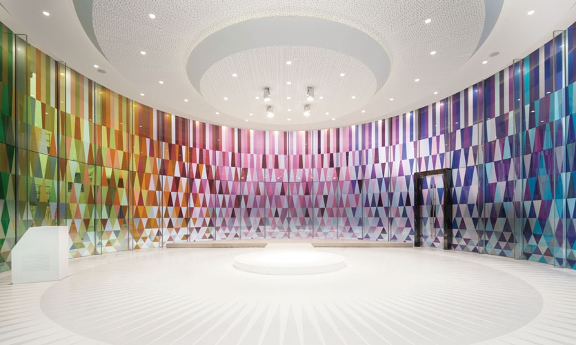 From Archigraphia Redux: Rainbow Chapel; Shanghai, China; Design Firm: Coordination Asia; Client: Shanghai G+Culture Creative Developing Co., Ltd.