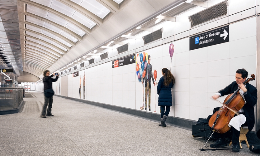 The C&VE team worked closely with the Station Signage group, getting their feedback at key points, to ensure visual conformity and continuity in accordance with the Standards.