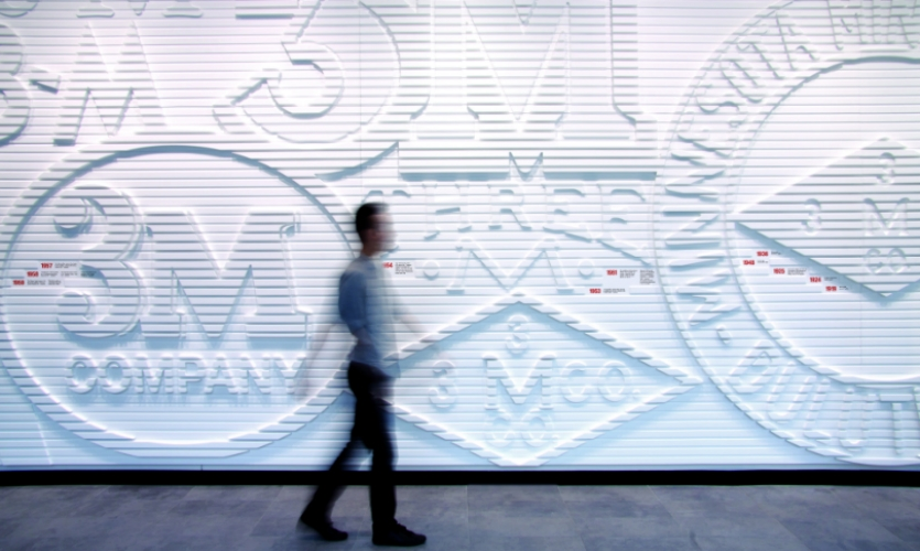 THERE created the branded environmental graphics for 3M's new Australian headquarters in Sydney.