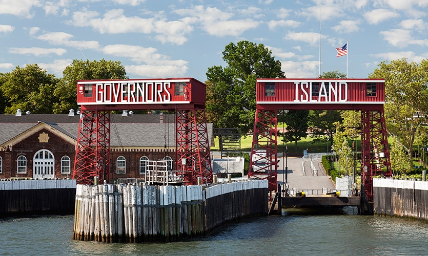 Governors Island Signage