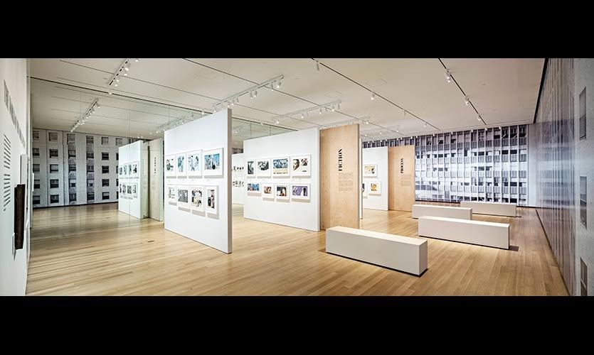 View of entire exhibit