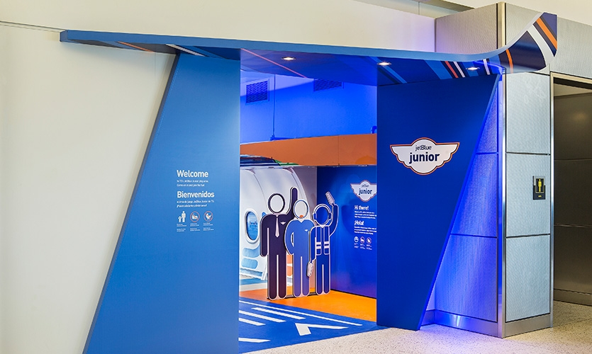 JetBlue Junior Children's Play Area