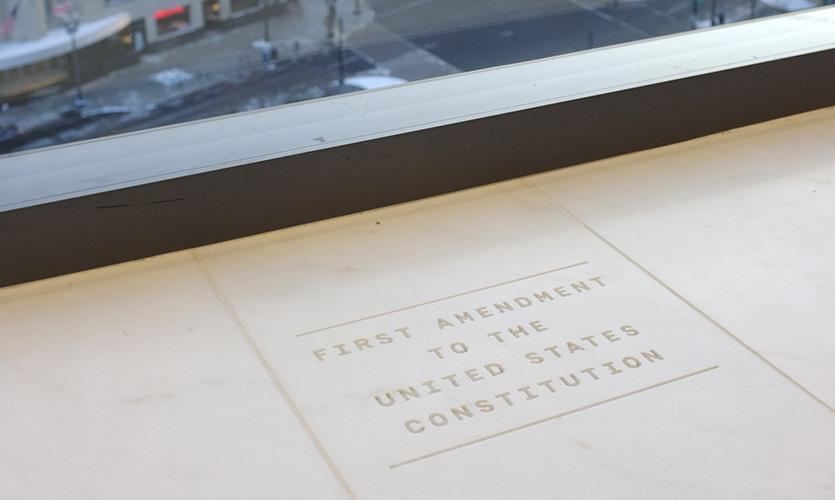 Bloomberg Washington DC News / Media Office workplace branding