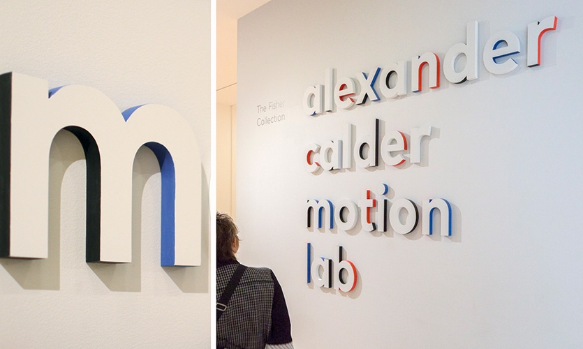 San Francisco Museum of Modern Art Opening Exhibition Graphics