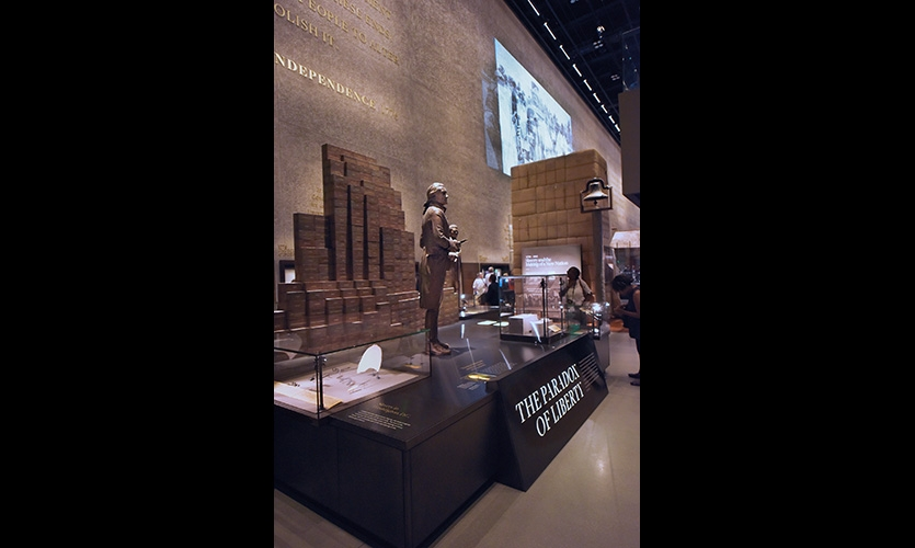"The ""Paradox of Liberty"" in the ""Slavery and Freedom"" Gallery"