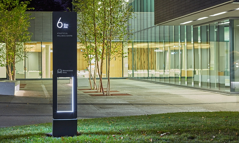 Branksome Hall Campus Wayfinding