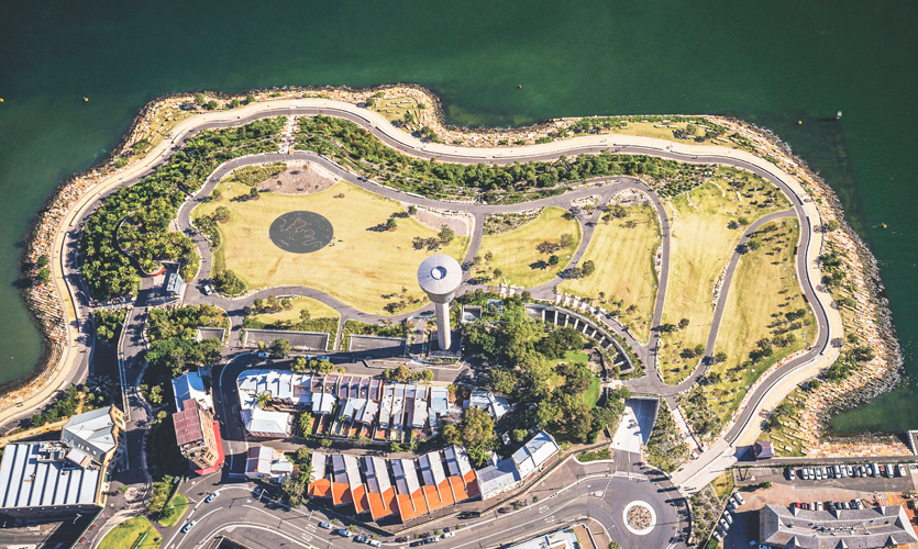 Sydney Foreshore Culture Walkway, Designed by University of Technology Sydney Student, 2018 Finalist