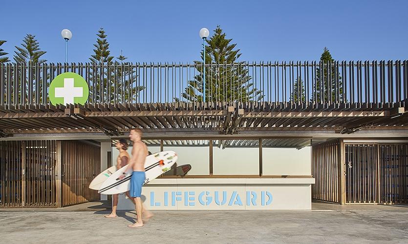 Coogee Beach Surf Lifesavers Pavilion
