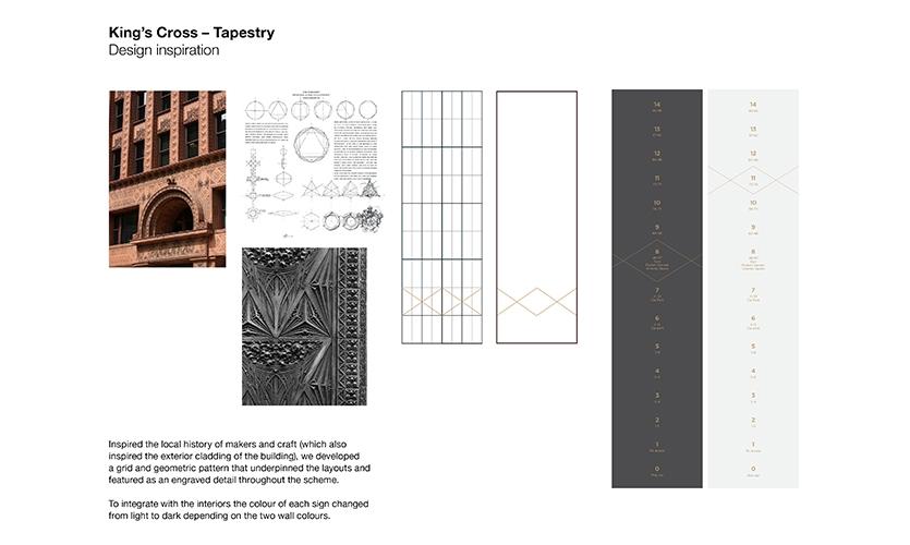 Tapestry in King's Cross