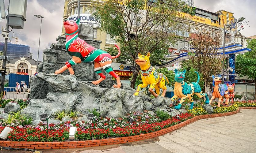 Nguyen Hue Flower Street
