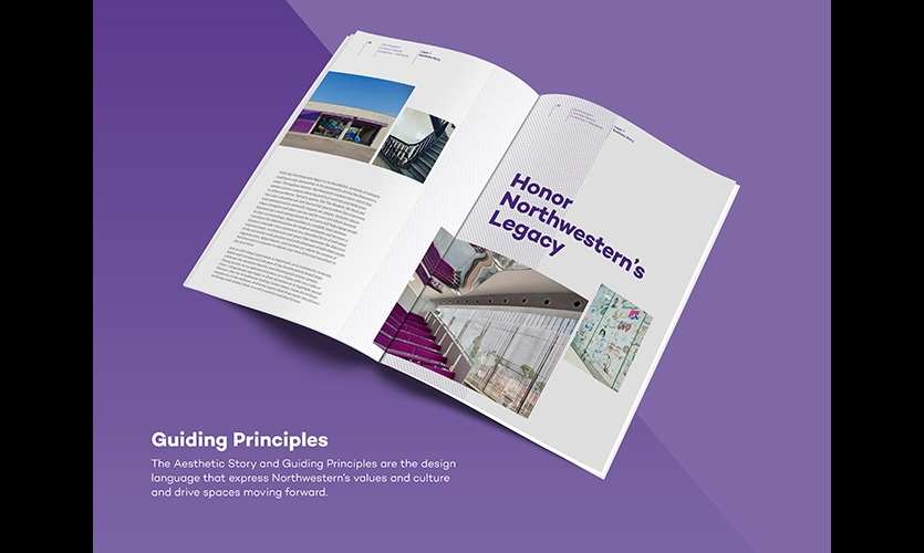 Data collected from assessments and purposefully designed guiding principles formed the basis for the design strategy and standards document.