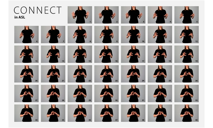 he artworks aptly illustrate the complex dynamics of sign language in an artistic and meaningful way.