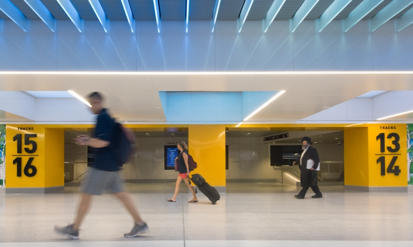 The phase-two opening of the state-of-the-art Moynihan Train Hall in the Farley Building will signal a return to grand, sky-lit, above-ground open spaces for the transit hub, while significantly increasing the rail system's capacity.