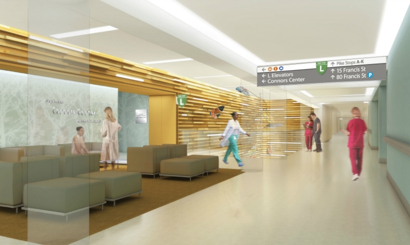 At Brigham & Women's Hospital, CGA created a patient-focused wayfinding program for a complex, expanding campus.