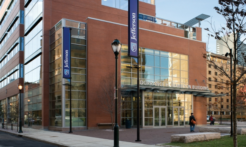 At Thomas Jefferson University & Hospital, CGA developed a campus-wide master plan that creates a distinctive brand identity, provides comprehensive directional wayfinding and makes the campus more accessible and user-friendly.
