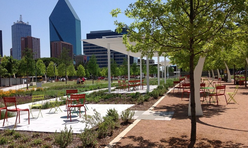 Klyde Warren Park | Dallas, 2012