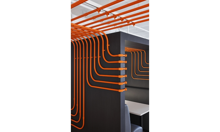 Detail of conduit screen.