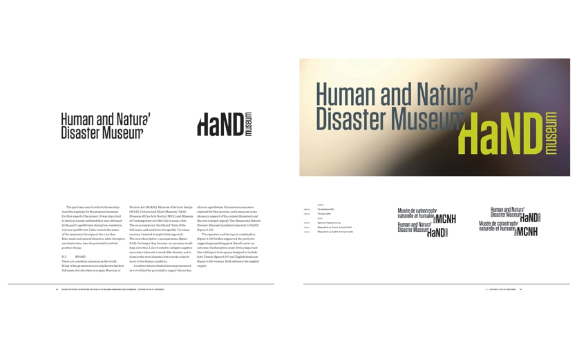 Man-made and natural disasters, while disruptive and destructive, have the potential to initiate positive change. The museum name—the acronym—reflects this.