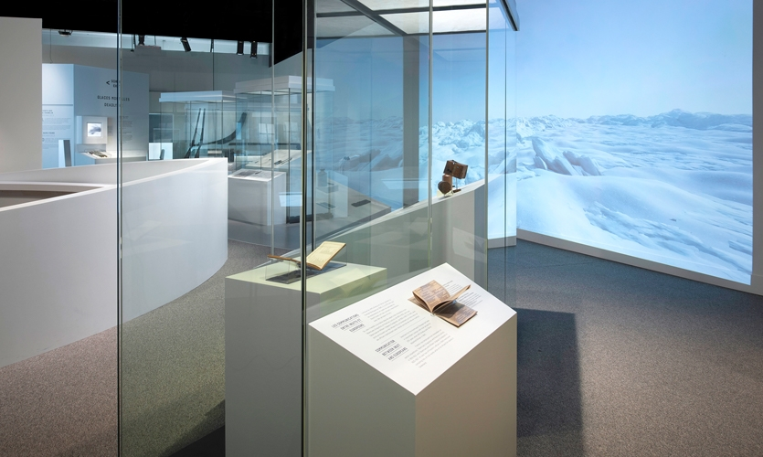 Visitors follow in the steps of search expeditions, navigating the Arctic Archipelago to find artifacts, the last traces of the Franklin Expedition.