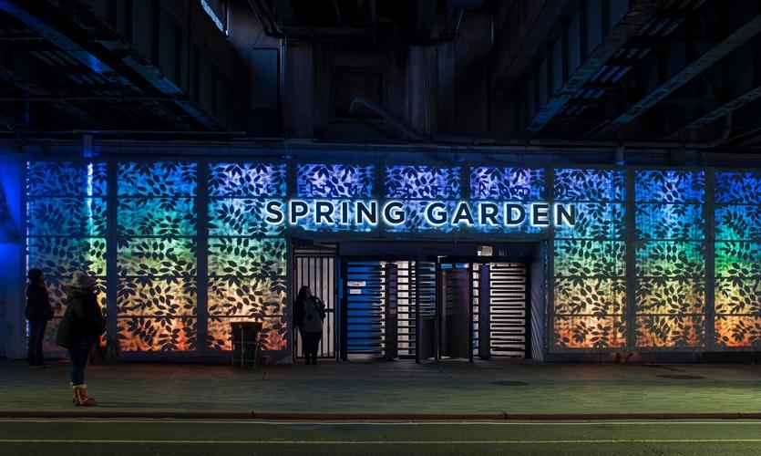Spring Garden Connector.
