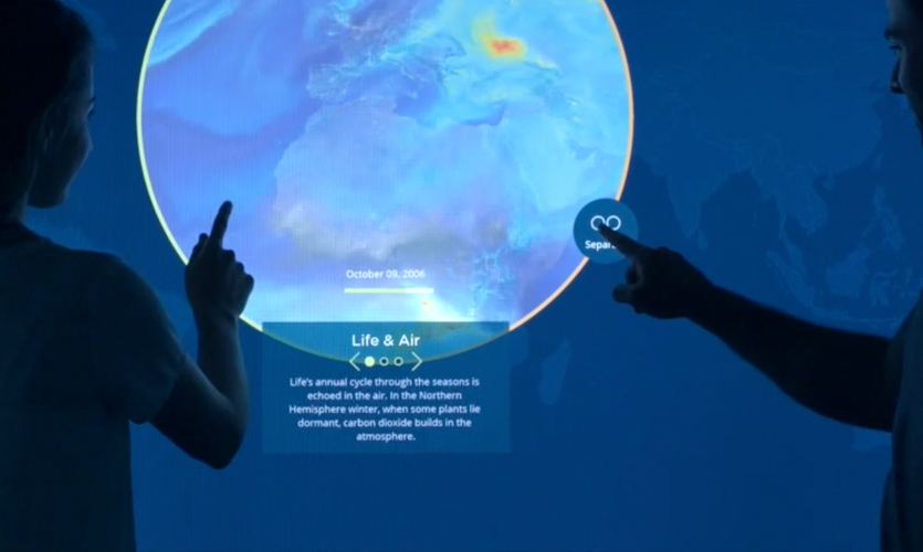 The interactive takes what might otherwise be daunting scientific data and extracts a compelling story.