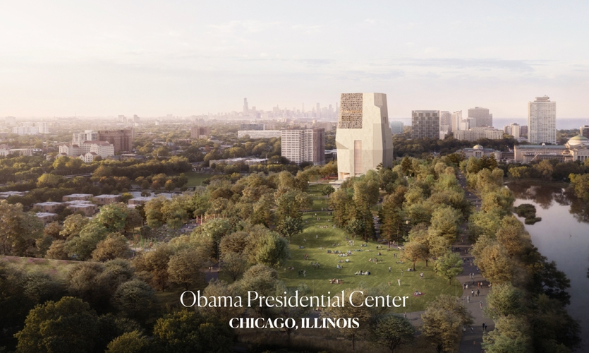 Obama Presidential Center, photos courtesy of Aki Carpenter