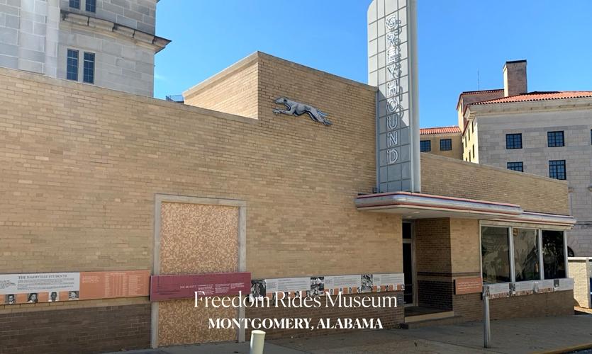 Freedom Rides Museum, photos courtesy of Aki Carpenter