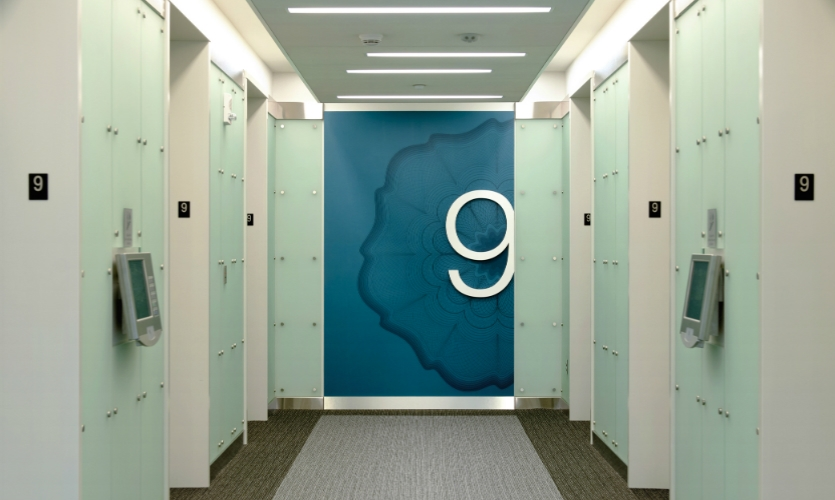 Workplace wayfinding will also be a focus. (Image: HOK, Ameritrades headquarters)