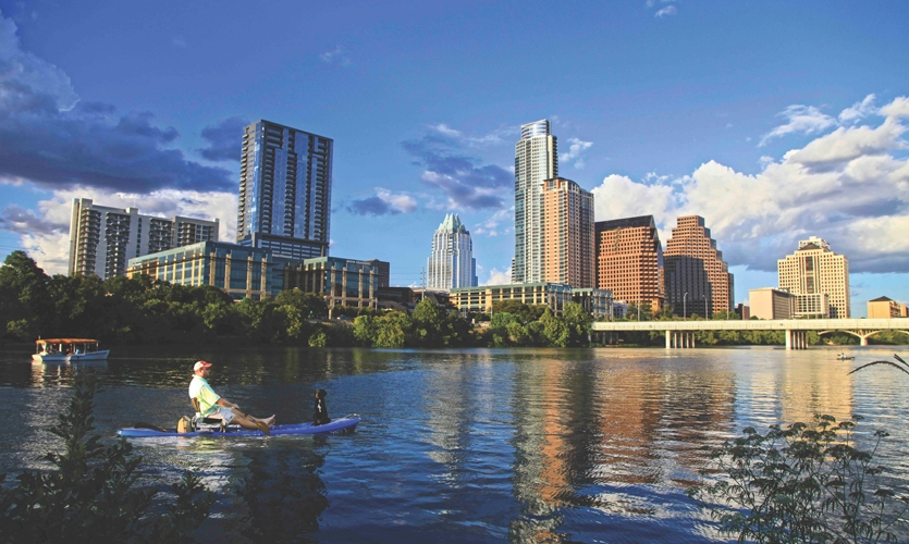Wish You Were Here: Taking in the Picturesque Austin Skyline