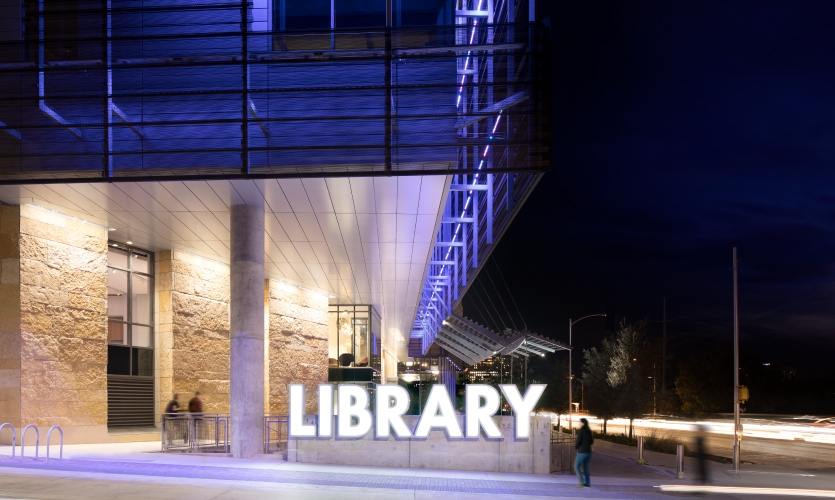 Austin, Texas invested over $125 million and eight years into a new central library.